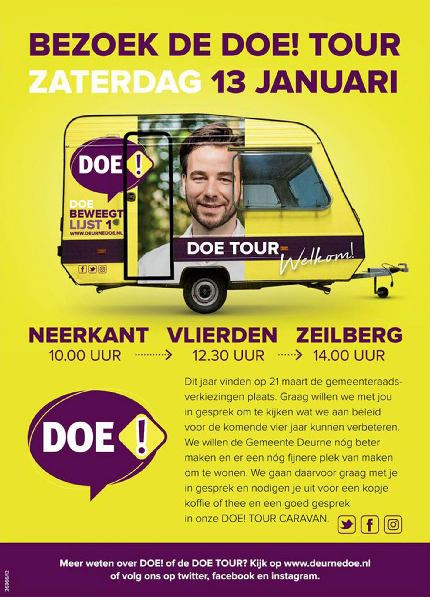DOE TOUR - JANUARI
